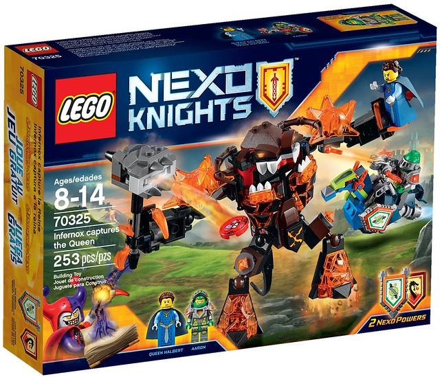 LEGO Nexo Knights 70325 - Infernox captures the Queen