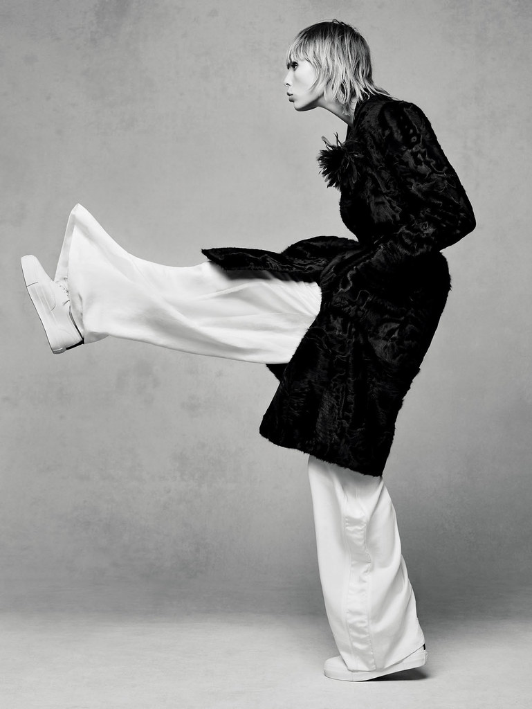 Эди Кэмпбелл — Фотосессия для «Vogue» CH 2015 – 1