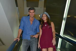 Christian Meier y Wendy Regalado