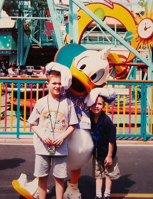 Donald Duck Character Meeting