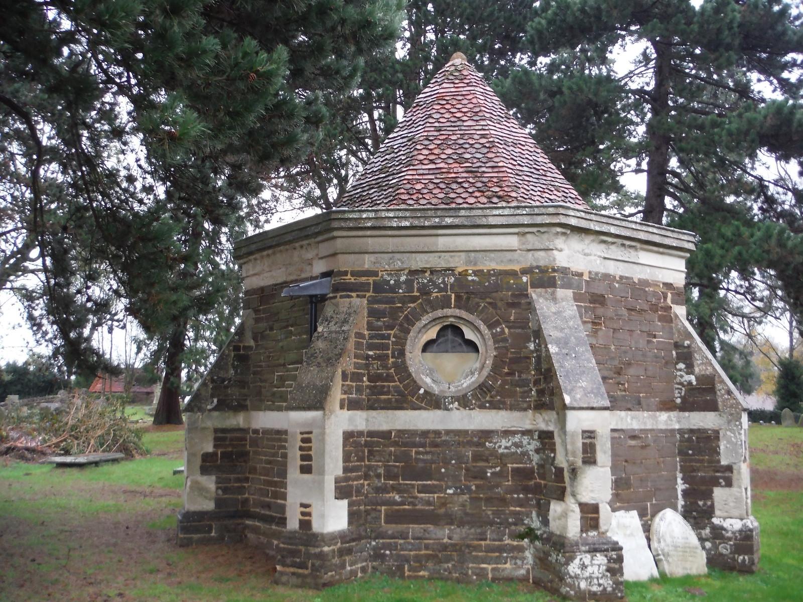 Ailesbury Mausoleum & Crypt, Maulden (II) SWC Walk 232 Lidlington to Flitwick