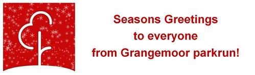 Season's Greetings from Grangemoor parkrun