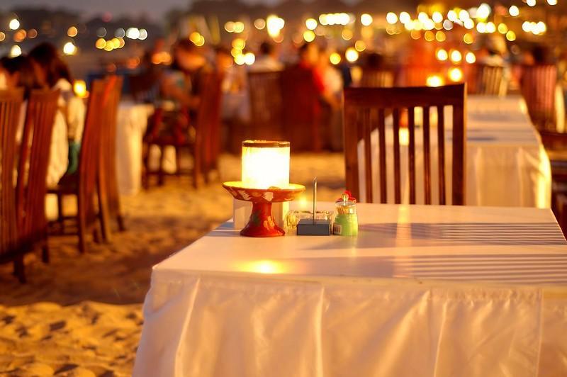 Seafood bach restaurant jimbaran