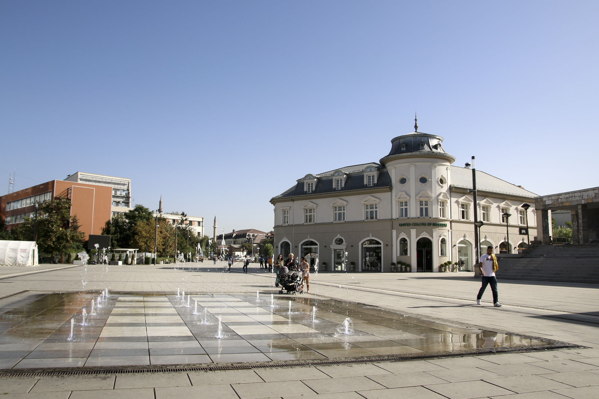 pristina main square, pristina