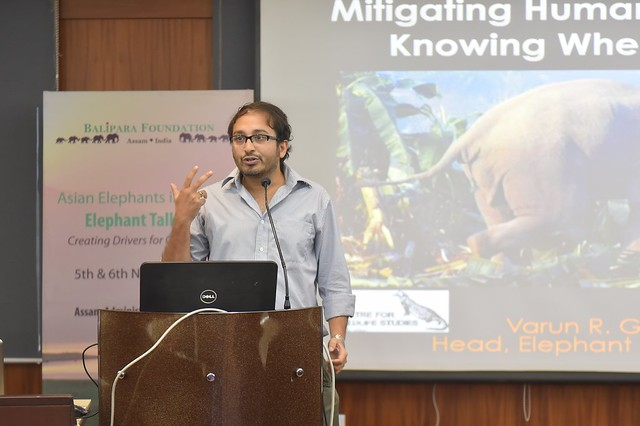 Managing human-elephant conflict: Knowing when and where to focus mitigation measures by  Dr. Varun Goswami, WCS- India Program