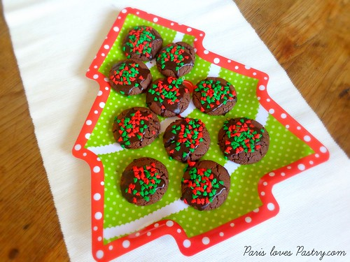 Chocolate Christmas Cookies by Nigella Lawson