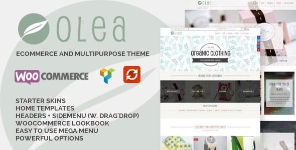 ThemeForest Olea v1.0.8 - Sell handmade, creative & craft goods