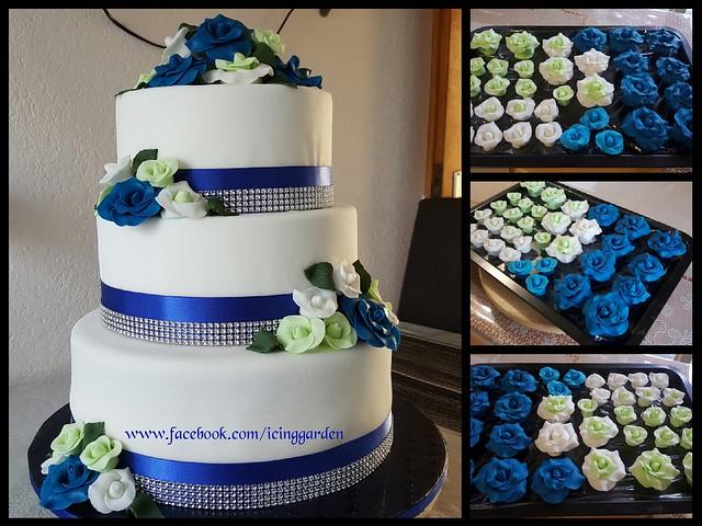 Fondant Cake / Birthday Cake /Shobana's Kitchen... 🇨🇭😀🇨🇭