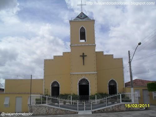 Dois Riachos - Igreja de São Sebastião