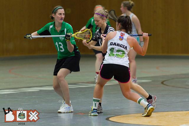 LaBox 2016 Damen Göttingen Alumni vs. Göttingen