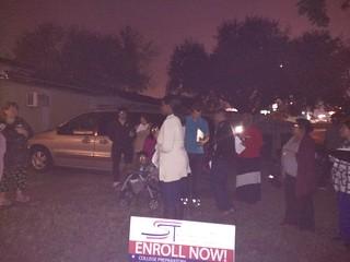 Last Christmas Carol Outreach. 5 ppl saved!