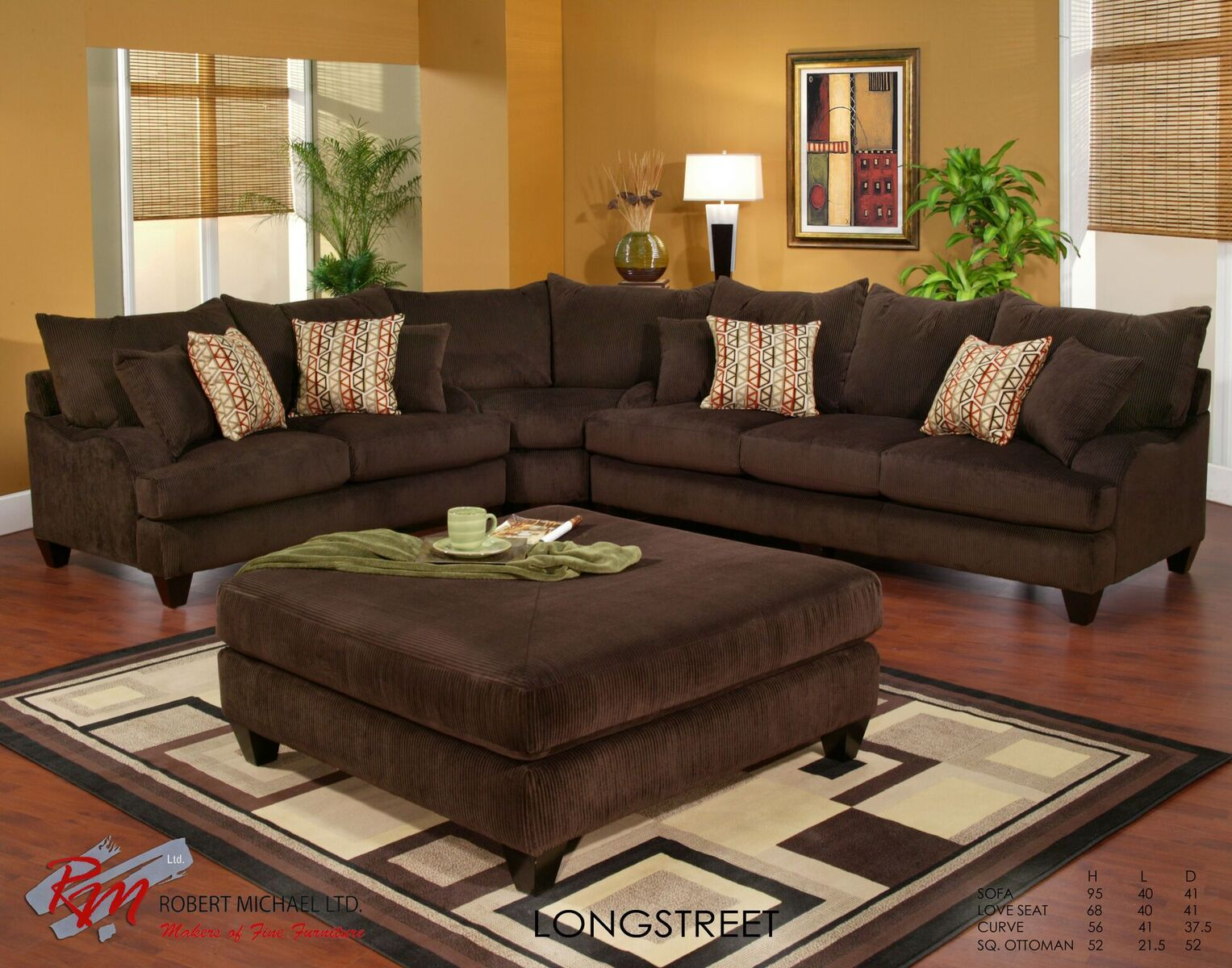 Long Street : robert michael ltd sectional - Sectionals, Sofas & Couches