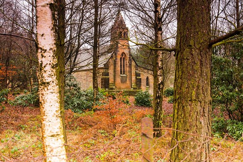 Old St Mary Magalane Church on the Yorkshire Moors
