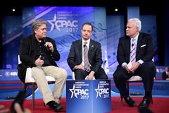 Steve Bannon, Reince Priebus & Matt Schlapp
