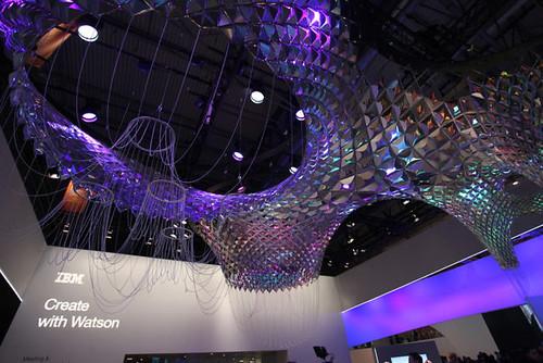 La primera escultura inteligente inspirada en Gaudí con IBM Watson en #MWC17