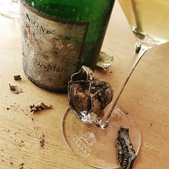 Finishing a #Big #Big #Big #Day of #VinsClairs #Hourra #20juillet74 #16Mars17 #Oeuilly #ChateaudeCondé #1969 #mariage  #Champagne #Tarlant #Vigneron #depuis1687 - Photo of Troissy