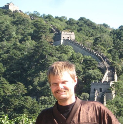Brent Went to the Great Wall of China