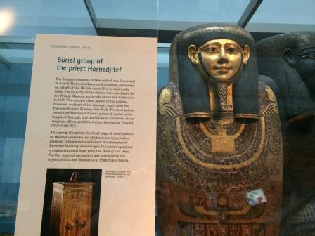 Mummies at the British Muesum