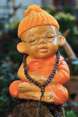 Small Buddhist statue, Chiang Mai, Thailand