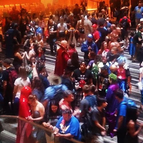 It's pretty much Geek Mardi Gras. #dragoncon2015 #roundtheworldwithsel