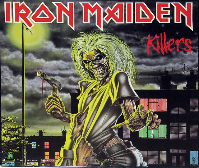 "IRON MAIDEN KILLERS Canada 12"" VInyl LP"