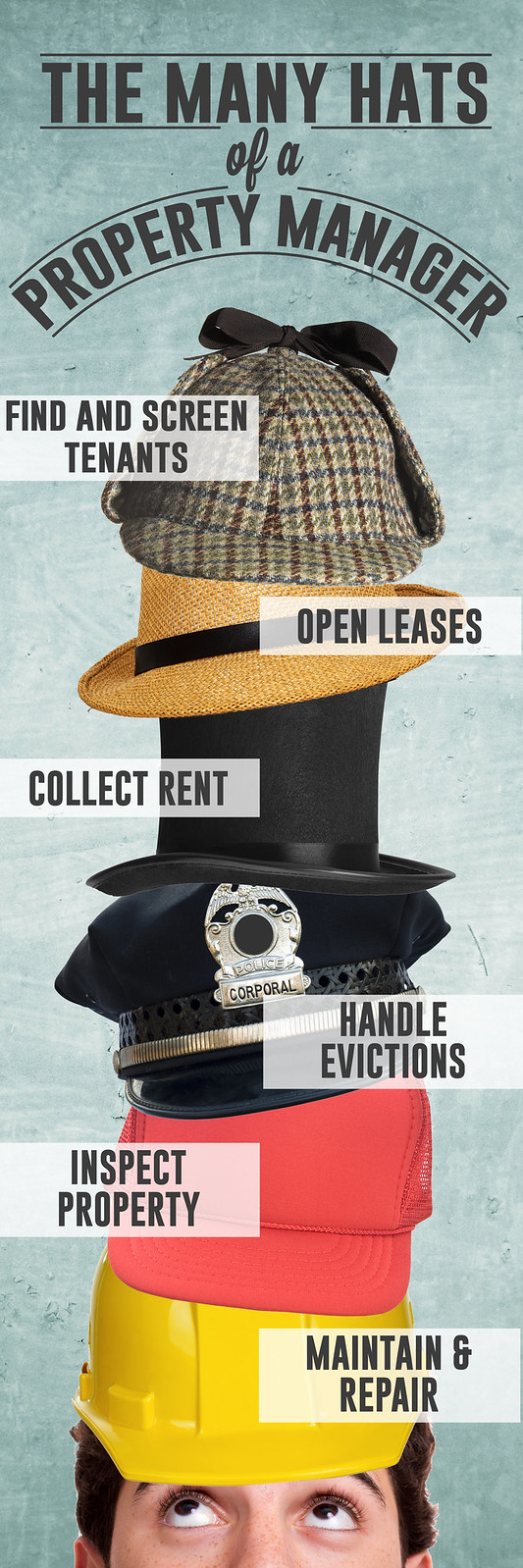 The many hats of property manager and home warranty