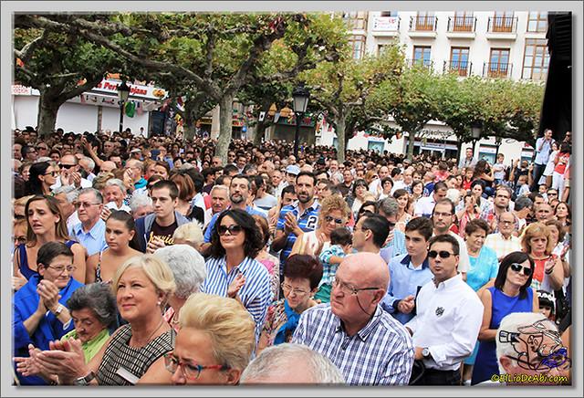 Briviesca en Fiestas 2.015 Recepción en el Ayuntamiento y canto popular del Himno a Briviesca (20)
