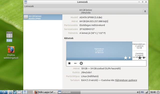 Asus Eee PC 1001HA korszerűsítése projekt #20