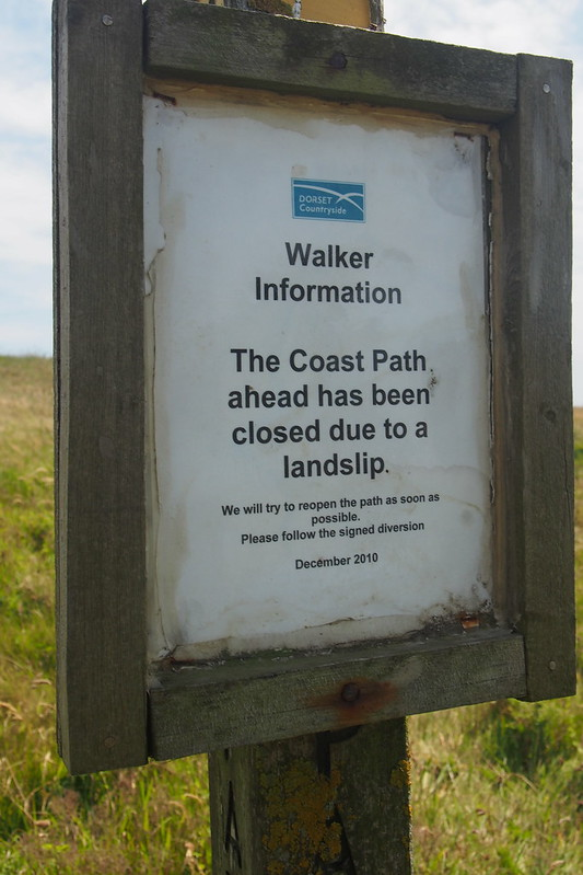 Coast Path closure notice