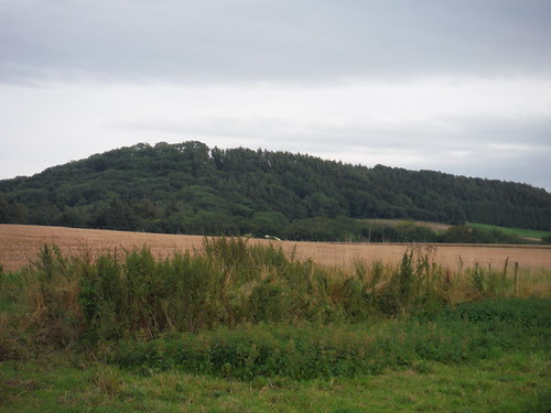 Castle Ditches Iron Age Hillfort Site, from near end of walk