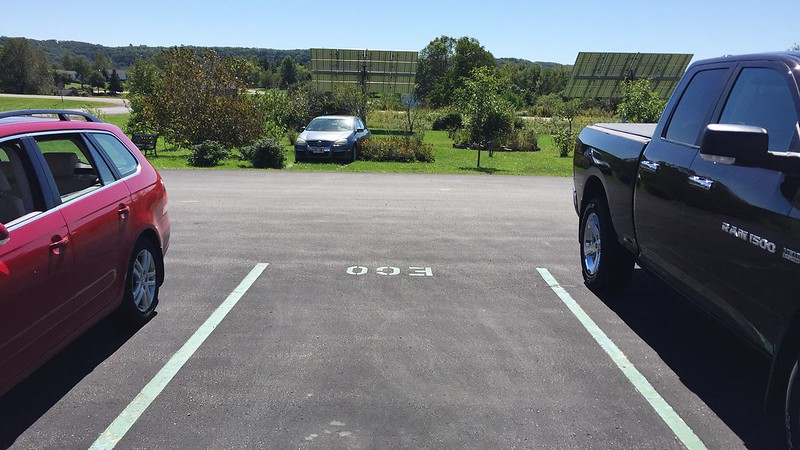 250/365. i accidentally found a new parking spot at organic valley hq.