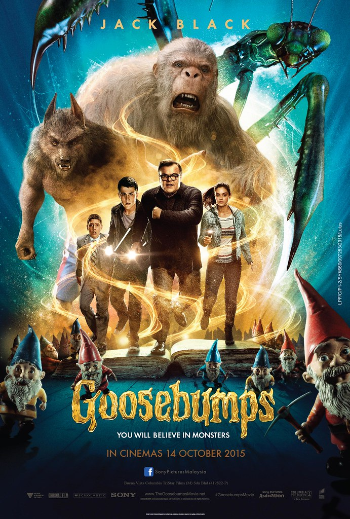 Poster Filem GOOSEBUMPS
