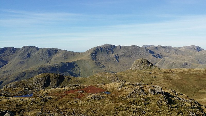 Looking to Bowfell #sh
