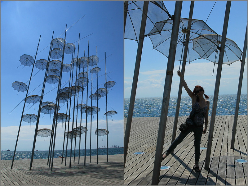 Umbrella Sculpture, Thessaloniki