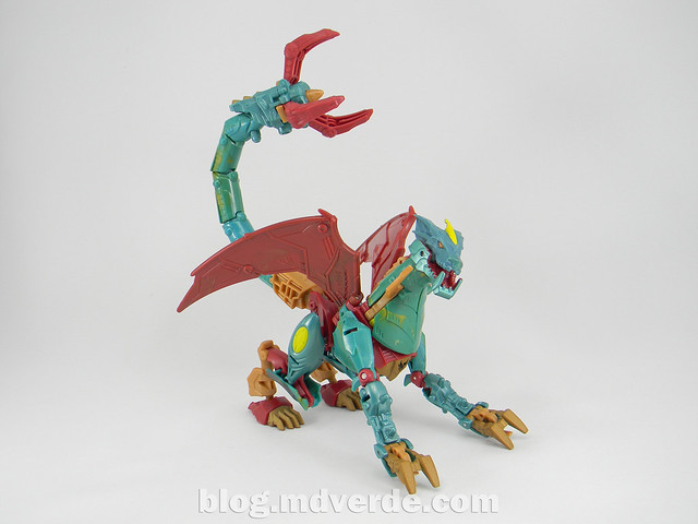 Transformers Ripclaw Deluxe - Transformers Prime Beast Hunters - modo dragon