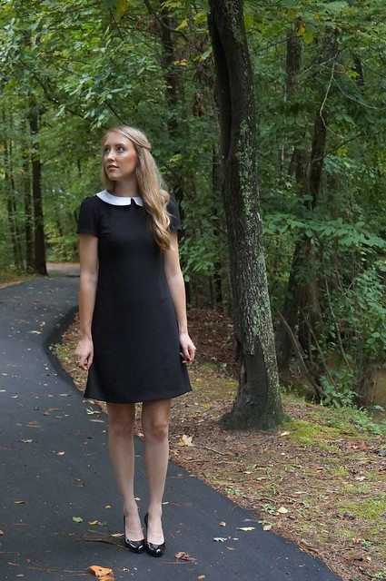 wednesday addams dress | allie J. | alliemjackson.com