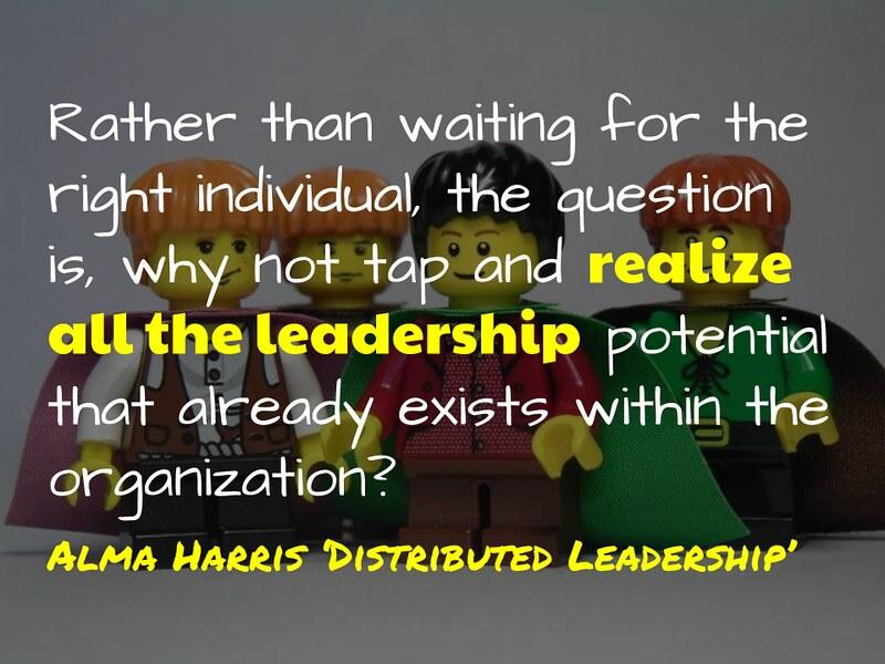 Leadership potential @almaharris1