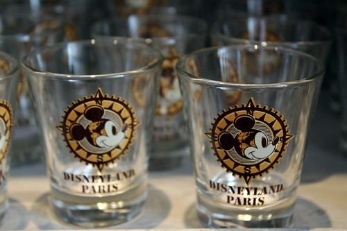 Adventurer Mickey shotglasses