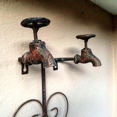 #Torneiras ornamentais pra #jardim #cabodesantoagostinho #destilaria