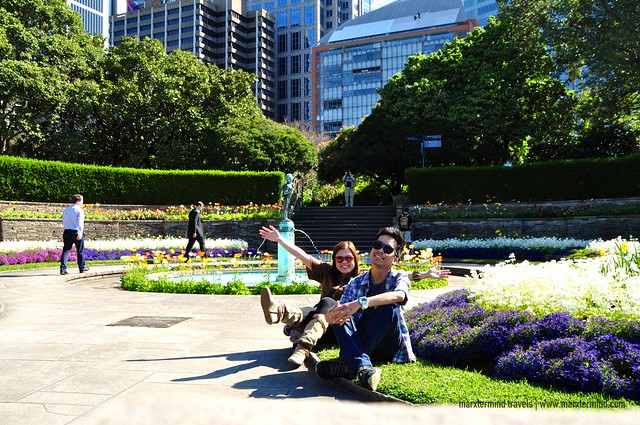 With Majoy at Royal Botanic Gardens Sydney