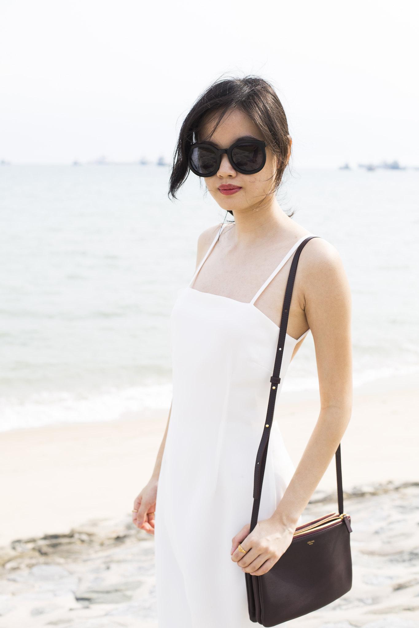 luxury silk dres
