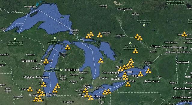 nuclear hotspots in GLC