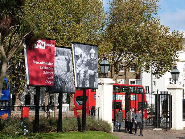 entrée de l'Imperial War Museum