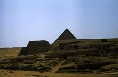Ägypten 1983 (23) Gizeh: Grab der Chentkaus I. und Mykerinospyramide