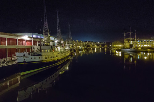 Bristol's Floating Harbour- the Balmoral