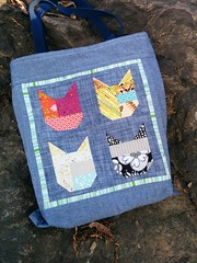 Cat Tote side B