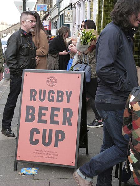 rugby beer cup