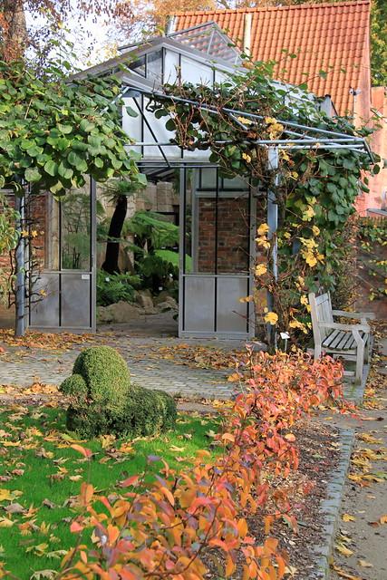 De Varenkas in de Leuvense Kruidtuin