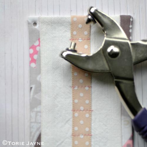 DIY bobby pin holder tutorial 16