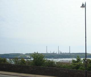 Valero Pembroke oil refinery